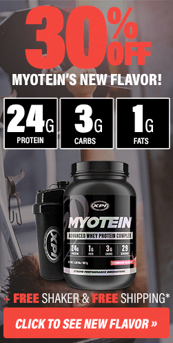 30% Off New Myotein Strawberry