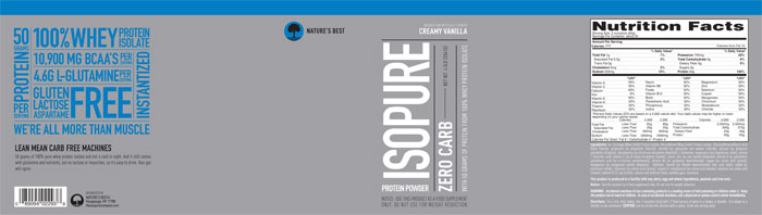 Carb Isopure Isopure Zero Carb Review